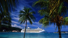 Cruise Ship Docked at Ocho Rios